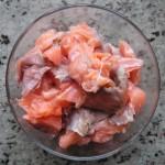 Kawałki ryby do zupy rybnej