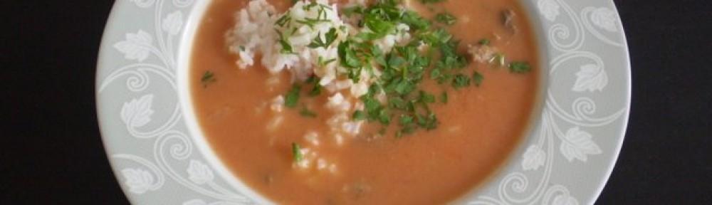 Zupa pomidorowa z ryżem