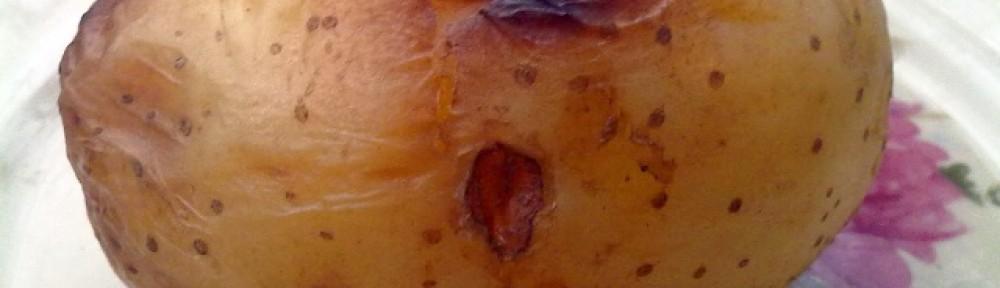 Ziemniak pieczony z grilla