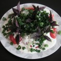 Sałatka z pomidorów ze śmietaną