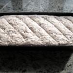 Chleb tuż przed włożeniem do piekarnika