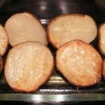 Ziemniaki pieczone połówki
