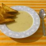 Zupa krem z czosnku