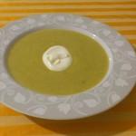Francuska zupa z porów krem
