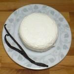 Biały ser i wanilia