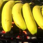 Banany na grillu