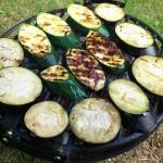 Bakłażany i cukienie na grillu