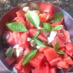 Sałatka z arbuza