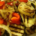 Warzywa z patelni grillowej