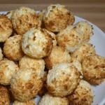 Kokosanki na półmisku