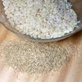 Ryż razowy dłużej gotowany - ziarenka popękane