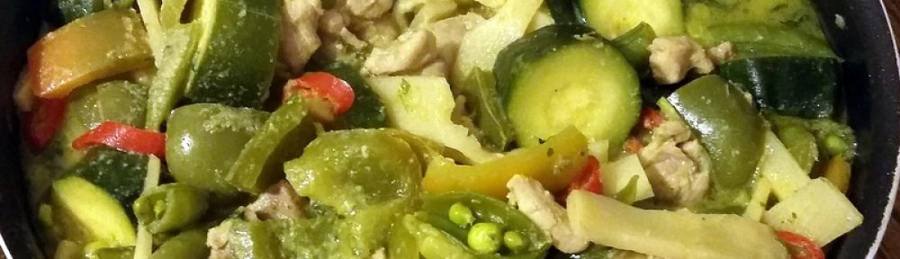Zielone tajskie curry